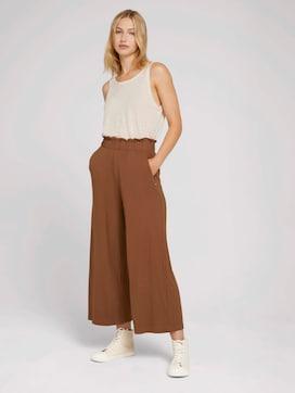 Pleated culotte trousers - 3 - TOM TAILOR Denim