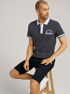Poloshirt mit Print - 5 - TOM TAILOR