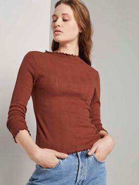 Getextureerd overhemd met lange mouwen - 5 - TOM TAILOR Denim