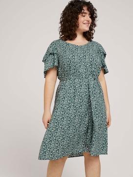 gemustertes Kleid mit LENZING(TM) ECOVERO(TM) - 5 - My True Me
