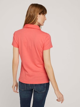 polo shirt with a small logo print - 2 - TOM TAILOR