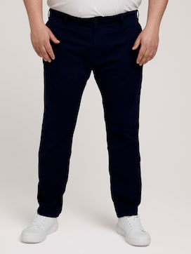 structure chino made with organic cotton   - 1 - Men Plus