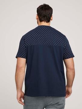 gepunktetes T-Shirt mit Bio-Baumwolle  - 2 - Men Plus