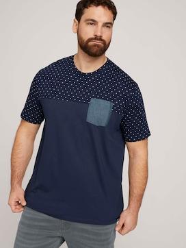 T-shirt met biologisch katoen  - 5 - Men Plus