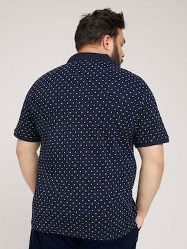 allover printed polo made with organic cotton   - 2 - Men Plus