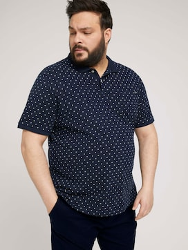 allover printed polo made with organic cotton   - 5 - Men Plus