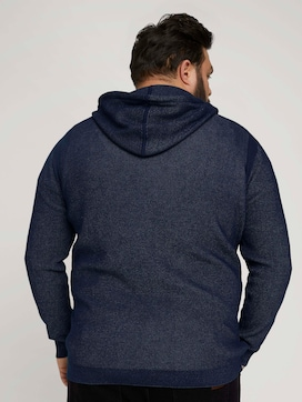 structured hoody made with organic cotton   - 2 - Men Plus