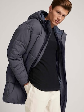 quilted coat with recycled polyester - 5 - TOM TAILOR Denim