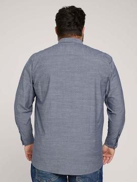 Overhemd met biologisch katoen  - 2 - Men Plus