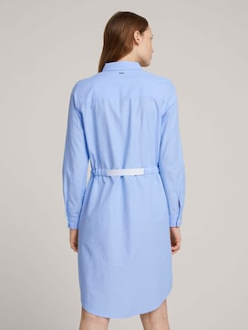 Mini blouse dress with a belt - 2 - TOM TAILOR Denim