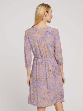Blouse jurk met bloemenprint - 2 - TOM TAILOR