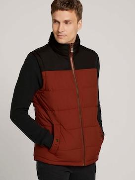 quilted vest - 5 - TOM TAILOR