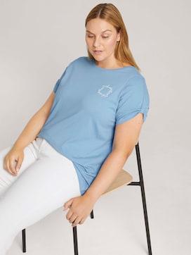 Curvy - Print T-Shirt mit Bio-Baumwolle - 5 - My True Me