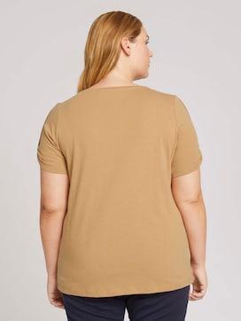 Plus - Print T-Shirt mit Bio-Baumwolle - 2 - My True Me