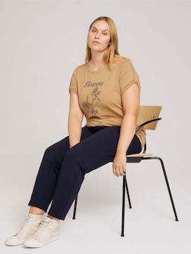 Plus - Print T-Shirt mit Bio-Baumwolle - 5 - My True Me