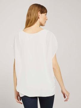 Overhemd met chiffon overtrek - 2 - TOM TAILOR