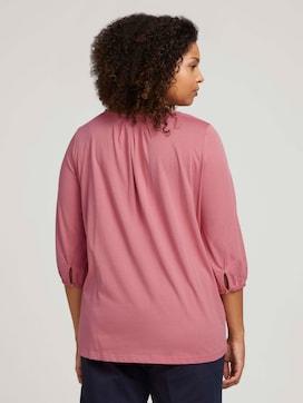 Curvy blouse met V-hals - 2 - My True Me