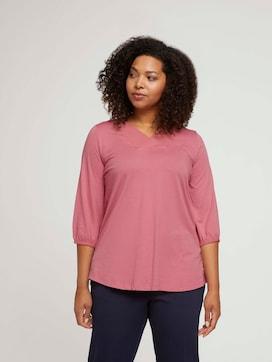 Curvy blouse met V-hals - 5 - My True Me