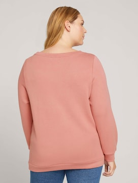 Plus - Basic Sweatshirt - 2 - My True Me