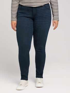 Curvy - five-pocket style jeans with washing - 1 - My True Me
