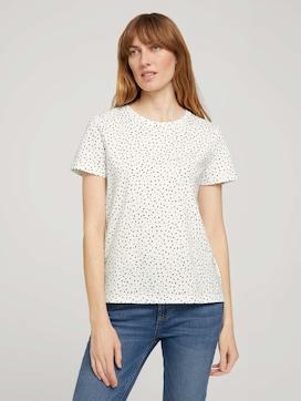 T-Shirt aus Bio-Baumwolle - 1 - TOM TAILOR