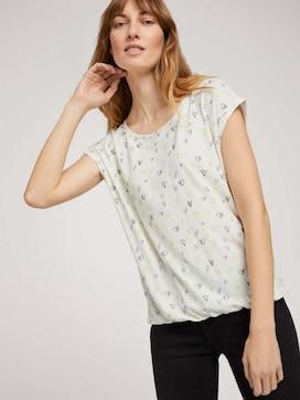 Elastisch T-shirt met print - 5 - TOM TAILOR