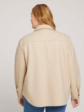 Mottled shirt jacket - 2 - My True Me