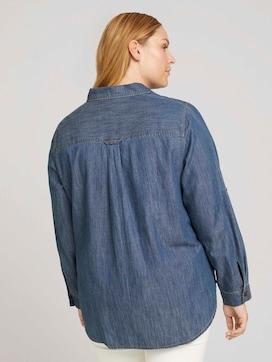Curvy - denim blouse - 2 - My True Me