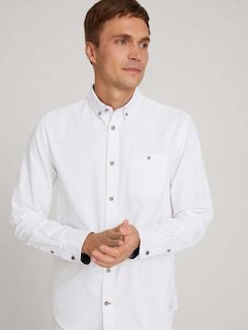 textured shirt - 5 - TOM TAILOR