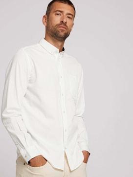 Basic-overhemd van biologisch katoen - 5 - TOM TAILOR