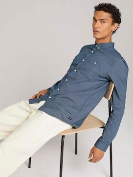 overhemd met structuur - 5 - TOM TAILOR Denim