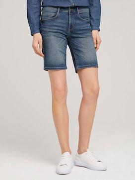 Alexa Slim Bermuda Jeans - 1 - TOM TAILOR