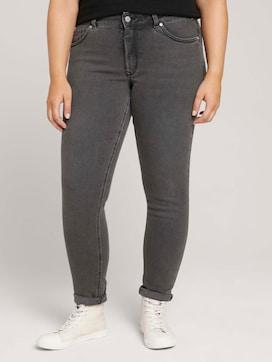 Plus - Used Look Skinny Jeans mit Bio-Baumwolle - 1 - My True Me