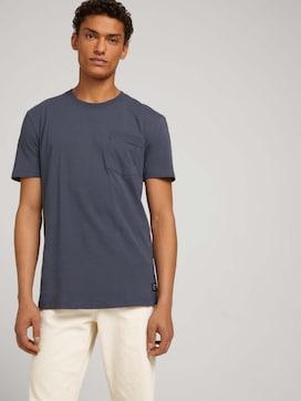 T-Shirt mit Brusttasche - 5 - TOM TAILOR Denim
