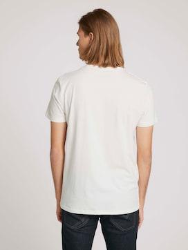 T-Shirt mit Print aus Bio-Baumwolle - 2 - TOM TAILOR Denim