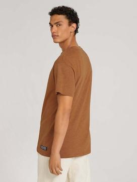 T-Shirt mit feinen Streifen - 2 - TOM TAILOR Denim