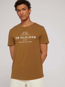 T-shirt met print en biologische katoen - 5 - TOM TAILOR Denim