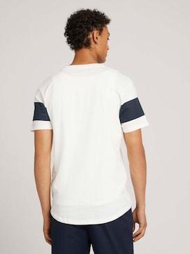 T-shirt met blokstrepen van biologisch katoen - 2 - TOM TAILOR Denim