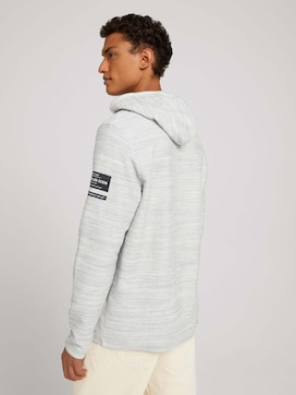 gestructureerde hoodie - 2 - TOM TAILOR Denim