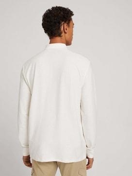 Poloshirt mit Streifenstruktur - 2 - TOM TAILOR Denim