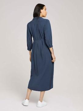 Midi-blousejurk met lyocell - 2 - TOM TAILOR