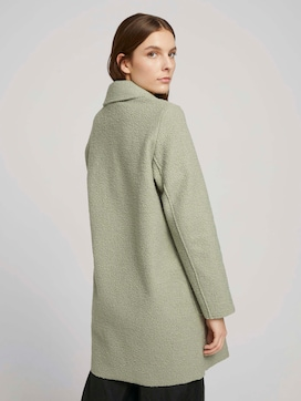 Loose-fit boucle coat - 2 - TOM TAILOR