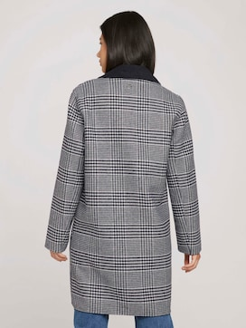 Checked reversible coat - 2 - TOM TAILOR