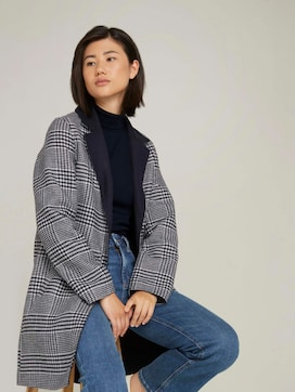 Checked reversible coat - 5 - TOM TAILOR