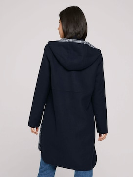 Wool coat with a hood - 2 - TOM TAILOR