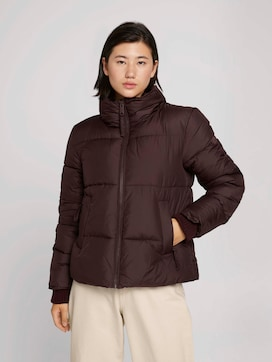 Puffer jacket with recycled polyester - 5 - TOM TAILOR