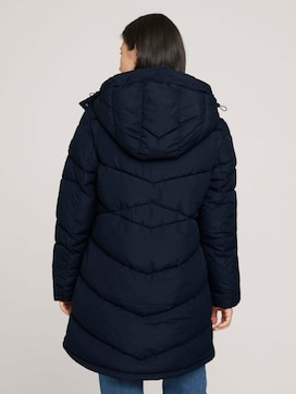 Puffer coat with a hood - 2 - TOM TAILOR
