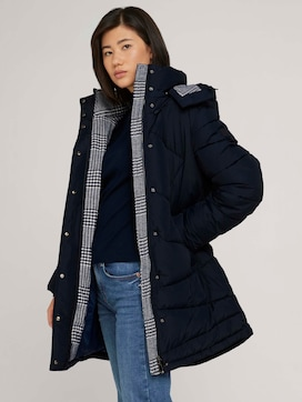 Puffer coat with a hood - 5 - TOM TAILOR