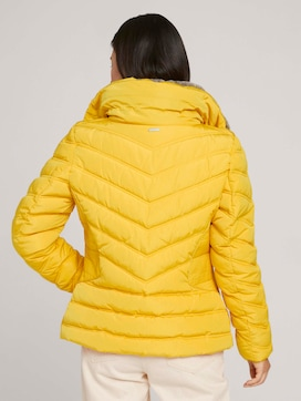 Stand-up collar puffer jacket with recycled polyester - 2 - TOM TAILOR