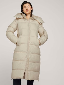 Quilted parka with recycled polyester - 5 - TOM TAILOR